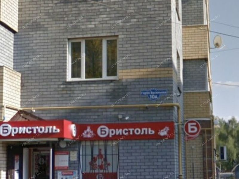 однокомнатная квартира на улице Васильева дом 10а