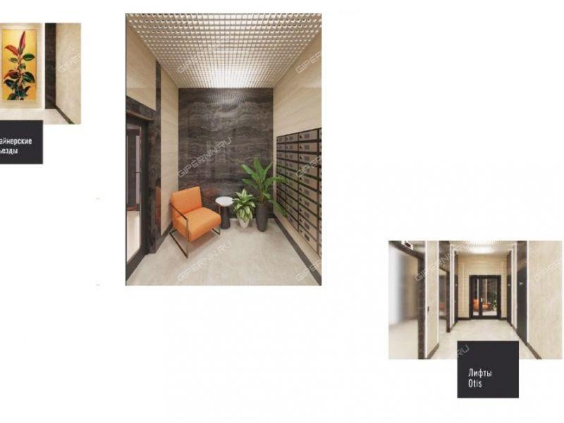 двухкомнатная квартира в новостройке на в границах улиц Родионова, Северо-Восточная