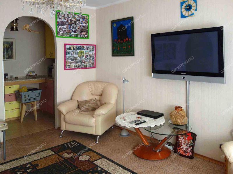 двухкомнатная квартира в курортном посёлке Зелёный Город дом 2
