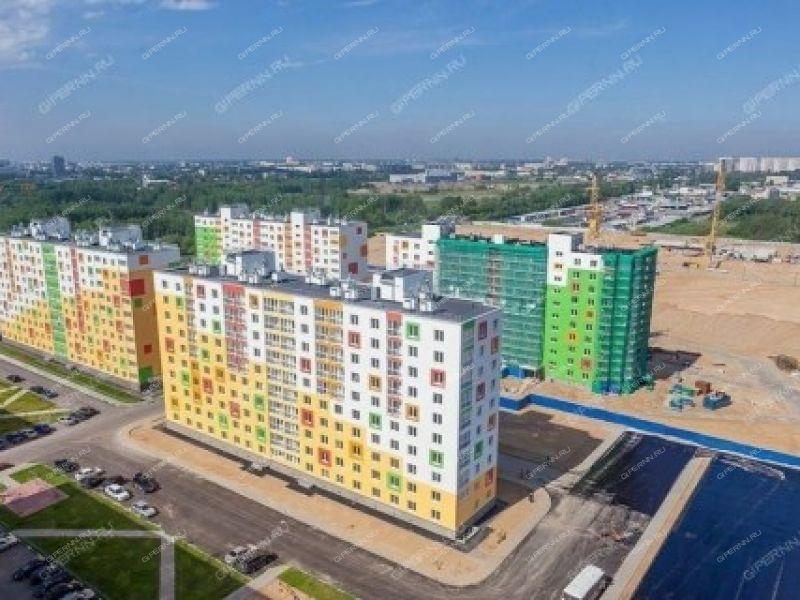 трёхкомнатная квартира в новостройке на Бурнаковская