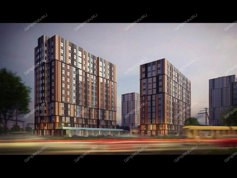 двухкомнатная квартира в новостройке на улице Глеба Успенского
