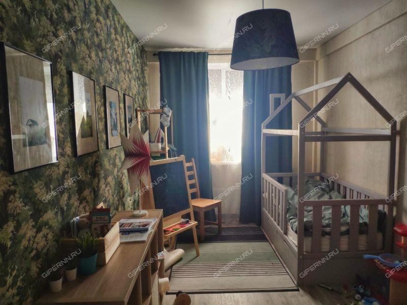 трёхкомнатная квартира на улице Гагарина дом 16 к2 город Нижний Новгород