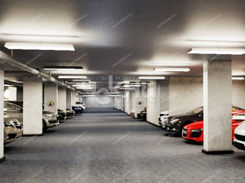 парковочное место на Верхне-Волжской набережной